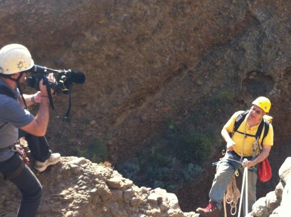 Camera man et Jean Carlos FAIT à le Trou Souffleur